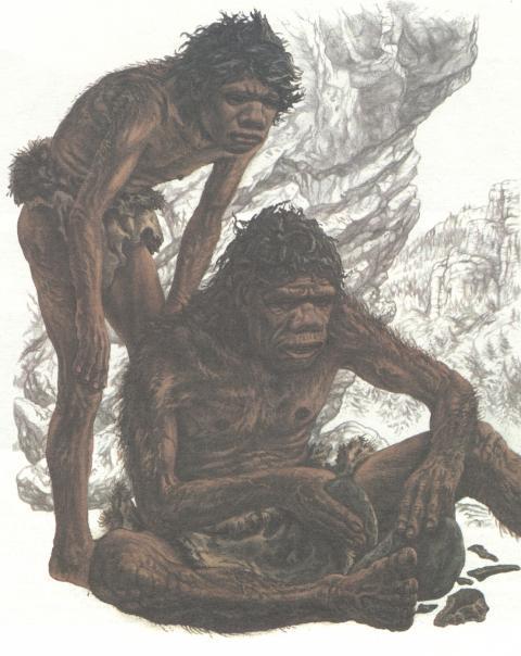 Фото древнего человека
